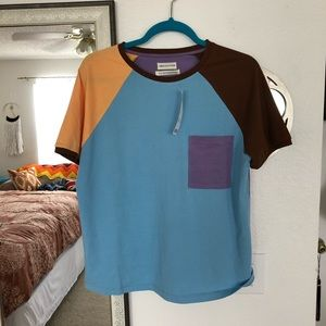 Urban Outfitters Color Block Top